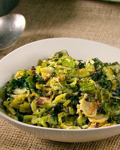 Sauteed Brussel Sprouts, Shredded Brussel Sprouts, Sauteed Kale, Brussel Sprout Salad, Brussels Sprouts, Kale Salad, Sprout Recipes, Kale Recipes, Healthy Recipes