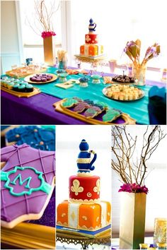 Stunning Moroccan Boy Baby Shower - Spaceships and Laser Beams