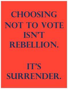 It's surrender