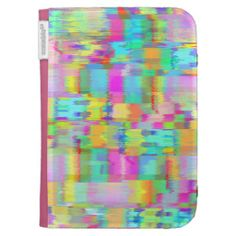 Colorful Wind Kindle Folio