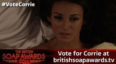 Michelle Keegan (Tina) is nominated for Sexiest Woman in @SoapAwards http://itv.co/1nBlEYL  #VoteCorrie: pic.twitter.com/WKcOzA9PbL