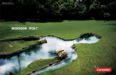Ad : Canesten - Monsoon itch; Advertising Agency: Watermelon Healthcare Communications Mumbai, India