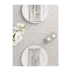 Samantha Pynn x Simons Square love table runner  50 x 150 cm ($27) ❤ liked on Polyvore featuring home, kitchen & dining, table linens, cotton table runner, floral table runner, floral runner, square table linens and floral napkins