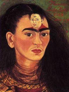 """""""Diego y yo"""", öl von Frida Kahlo (1907-1954, Mexico)"""
