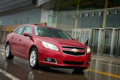 Chevrolet Malibu Eco Achieves Double Safety Honors  First and only all-new 2013 midsize car to receive top ratings