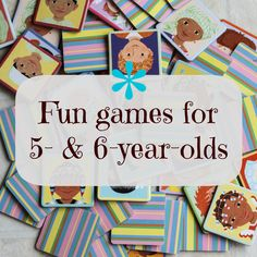 fun games for 5- and 6-year-olds/kindergarteners
