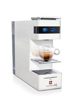 FrancisFrancis Y3 Iperespresso Coffee Machine White illy Capsules Espresso Mugs