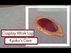 Tutorial + Cosplay Work Log : Hot glue Gems for Kyoko Sakura's soul gem