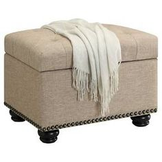 5th Avenue Storage Ottoman - Convenience Concepts : Target