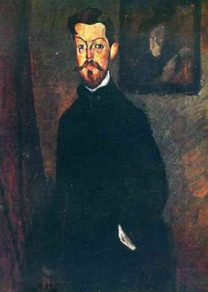 Amedeo Modigliani - Retrato de Paul Alexandre 1909 - Oil on Canvas 100x81 cm