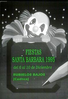 Fiestas de Rubielos Bajos (Cuenca), en honor de Santa Bárbara. Del 6 al 10 de diciembre de 1995. #Fiestaspopulares #RubielosBajos #Cuenca