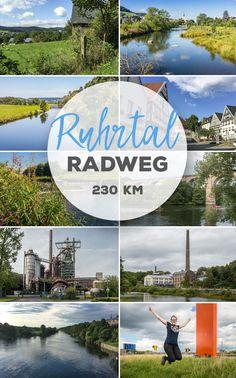 Der Ruhrtal Radweg führt von Winterberg im Sauerland bis Duisburg und begleitet die Ruhr auf dem Weg von der Quelle bis zur Mündung. Insgesamt 230 km sehr gut erschlossene Radwege bieten reichlich Attraktionen entlang der Strecke: z. B. Industriekultur in der Zeche in Hattingen oder Bochum.