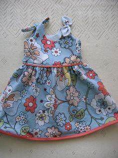 Itty Bitty Baby Dress free pattern