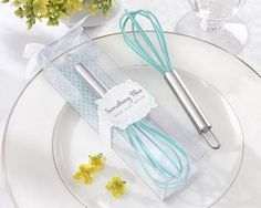 Something Blue Kitchen Whisk from Wedding Favors Unlimited