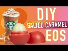 DIY EOS Salted Caramel Lipbalm! - YouTube