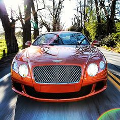 How's this for in your face? Bentley's Continental