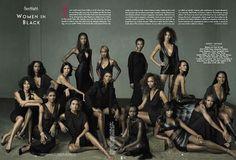Women In Black (Vanity Fair U.S.)