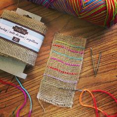 Beginner Weaving Project                                                                                                                                                                                 More