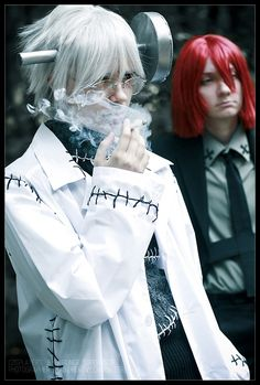 Stein and spirit cosplay soul eater