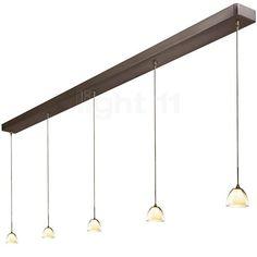 Bruck Silva Down 110 PNT + E-Point Quinta 375 C, Brons - Hanglampen | Lampen & Verlichting | light11.nl