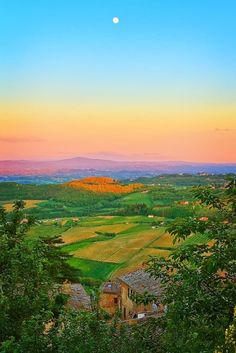 Sunset in Siena,Tuscany, Italy