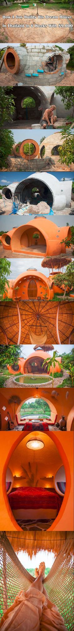 This Guy Created His Unbelievably Dream House In Thailand.