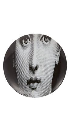 """Stretched Face"" Plate"