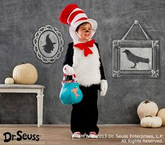 Dr. Seuss's™ Cat in the Hat Costume | Pottery Barn Kids