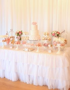 Isabella's Christening styled by My Little Jedi (cake and sweets by Sweet Bloom Cakes)