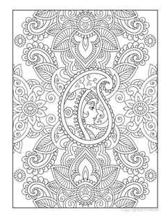 Creative Haven Mehndi Designs Coloring Book: Traditional Henna Body Art
