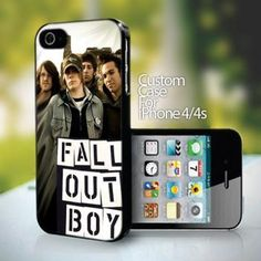 10754 Fall Out Boy design for iPhone 4 or 4s case
