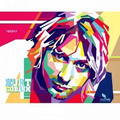 WPAP ART - graphic designer on Instagram: Kurt Cobain in popart (wpap) #indonesia #KURT #cobain #wpap #opparudy. For order or learning about this please contact me, and visit my bio :) #nirvana #nirvanafanpage #popart #portrait #colorful #portrait #thelegend #singer #hollywood #vector #vevtorart #bestvector #design #illustration #galleryart #gallery #art #coreldraw #artwork #wedhaism #27 #digitalart #streetart #instaart