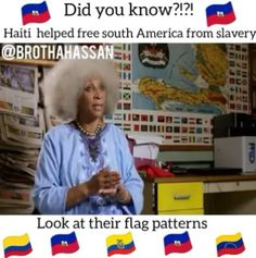 Not only did Haiti liberate themselves but they also helped liberate other South America countries VISIT this link to find out who Funny Black Memes, Funny Relatable Memes, Jean Jacques Dessalines, Haiti History, Haitian Creole, Haitian Art, South American Countries, Story Of The World, Black History Facts