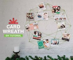 DIY Holiday Wreaths Make Awesome Homemade Christmas Decorations for Your Front… Homemade Christmas Decorations, Christmas Crafts For Gifts, Xmas Decorations, Christmas Diy, Holiday Wreaths, Joy Holiday, Holiday Ideas, Holiday Decor, Holiday Photo Cards