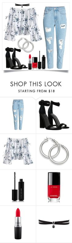 """""""jeans"""" by solonora ❤ liked on Polyvore featuring Kendall + Kylie, Marc Jacobs, Chanel, MAC Cosmetics and Fallon"""