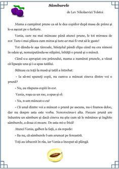 Texte despre sinceritate, cinste, adevăr. Povestiri cu valoare educativă Cl, Desktop