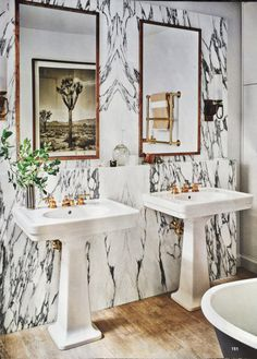 Nate Berkus' Inspired Bath Wall   The Perfect Bath