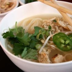 This Pho Noodle Soup is a homemade version of the delicious Vietnamese soup that you might order at a restaurant.
