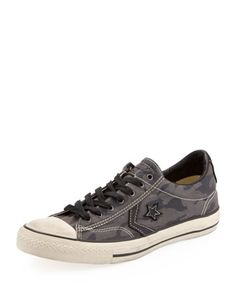 Camo Star Player EV Low-Top Sneaker by Converse by John Varvatos at Neiman Marcus.
