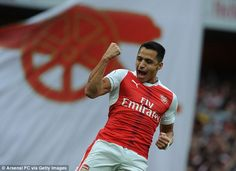 Alexis Sanchez has proved a popular figure at the Emirates since he arrived in 2014