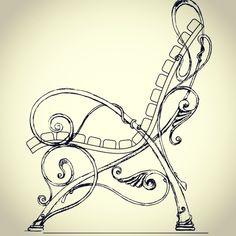 Фотографии Serega Plus Small Table And Chairs, English Wheel, Wrought Iron Chairs, Art Nouveau Furniture, Metal Art Projects, Blacksmith Projects, Steel Art, Iron Furniture, Art Nouveau Design