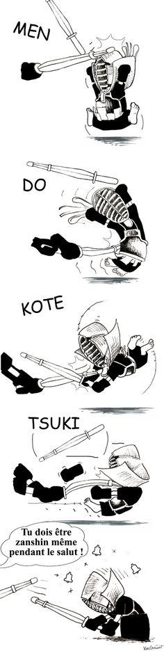 Kendo by Kyuguillot.deviantart.com on @deviantART