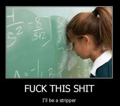 How I feel when I have to do math. Every. Single. Time