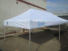 3x6 Pop up telta logolla