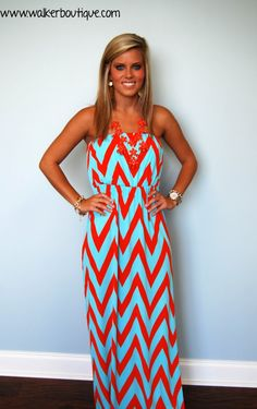 Coral Reef Maxi - Walker Pharmacy & Boutique