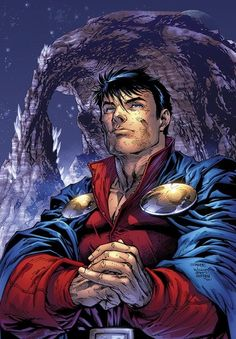 Mon-El, by Jim Lee.n I think this is one of the Jim Lee covers he did