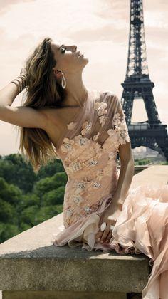 Zuhair Murad Blush Wedding Gown. Oh my G. Minus the price. Perfect...