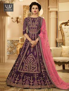 Rs8,500.00 Indian Bridal Outfits, Indian Bridal Lehenga, Indian Bridal Fashion, Indian Bridal Wear, Indian Designer Outfits, Indian Dresses, Indian Wear, Pakistani Bridal, Indian Attire