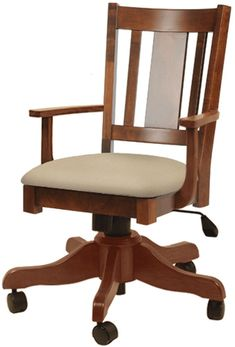 Up to 33% Off Benito Desk Chair - Amish Outlet Store Masculine Office Decor, Traditional Office Chairs, Basement Movie Room, Media Room Design, Best Office Chair, Amish Furniture, Small Rooms, Movie Rooms, Tv Rooms