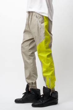 MARIOS Paneled Zip Trousers